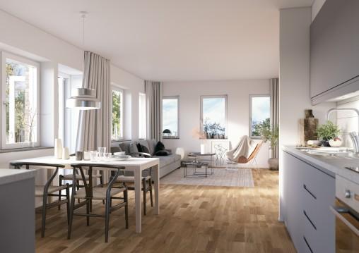 VellingePark_Kitchen-Livingroom